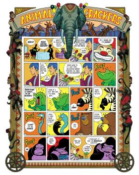 Animal Crackers Comic Strip Poster