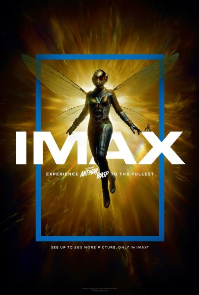 Ant Man And The Wasp IMAX Poster