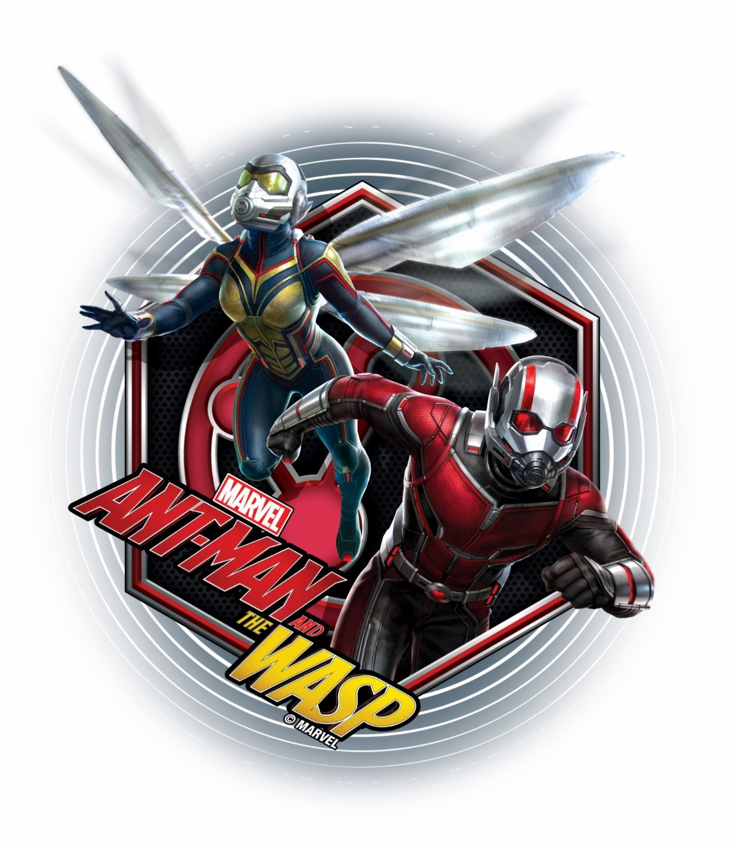 Ant Man And The Wasp Movie Promo Posters And Pictures Teaser Trailer