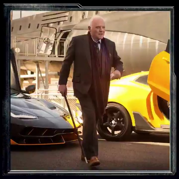 Anthony Hopkins - Transformers 5