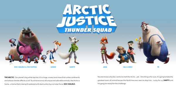 Arctic Justice Characters