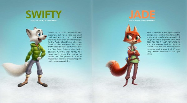 Arctic Justice - Swifty and Jade