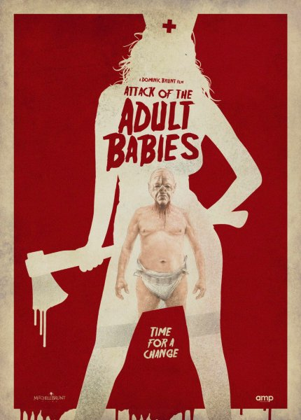Attack Of The Adult Babies Movie Poster