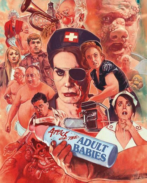 Attack Of The Adult Babies New Poster