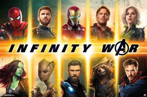 New Series Of Posters For Avengers Infinity War : Teaser