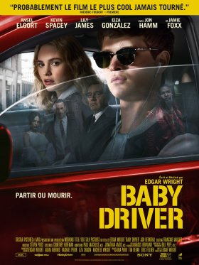 Baby Driver French Poster