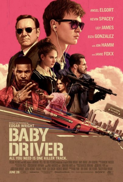 Baby Driver New Poster