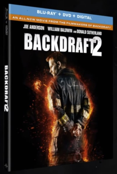 Backdraft 2 Movie Blu Ray Cover