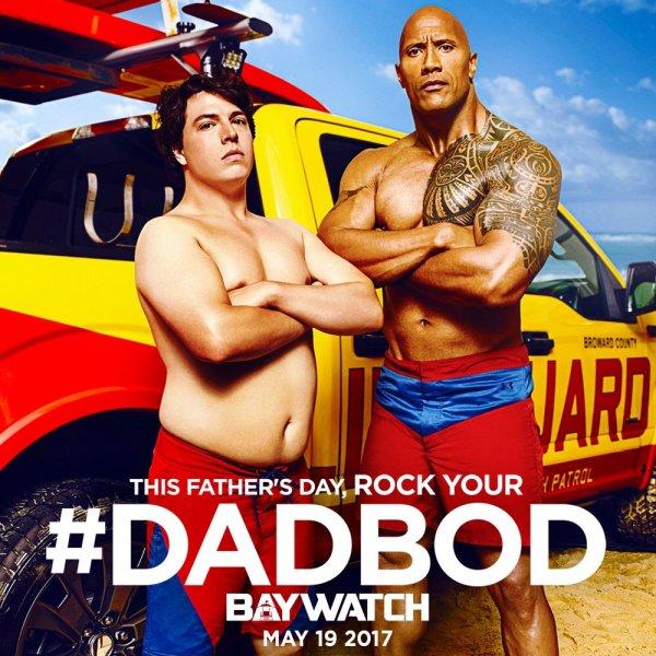 Baywatch - Dadbod poster
