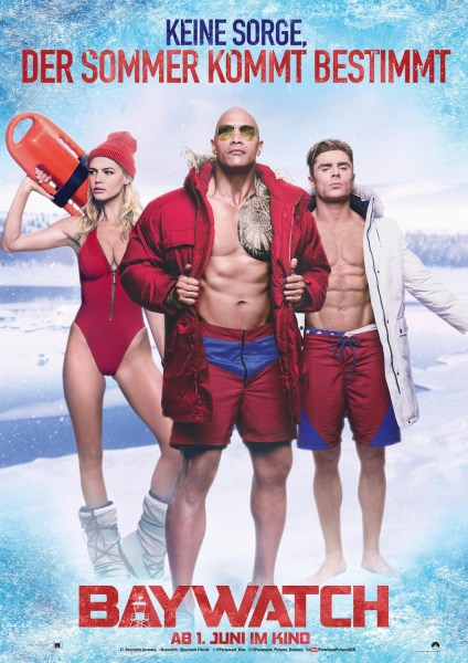 Baywatch Summer Is Coming Poster