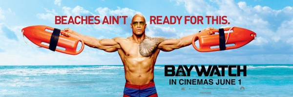 Baywatch The Rock Banner