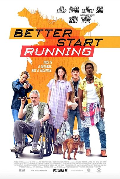 Better Star Running Movie Poster