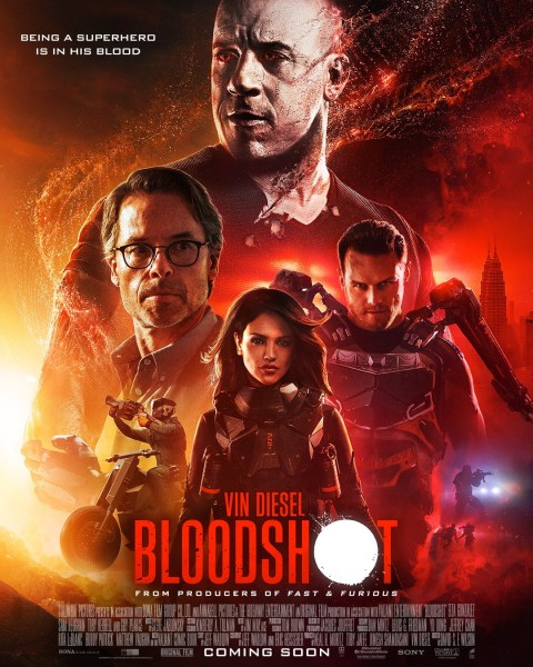 Bloodshot International Poster