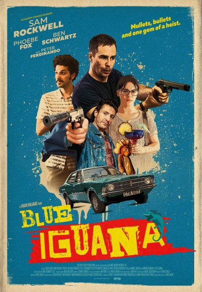 Blue Iguana New Film Poster