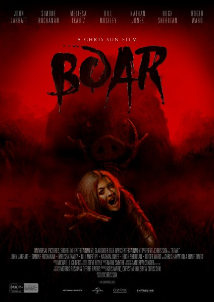 Boar New Poster