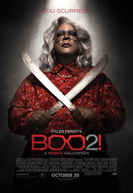 Boo 2 A Madea Halloween Movie Poster : Teaser Trailer