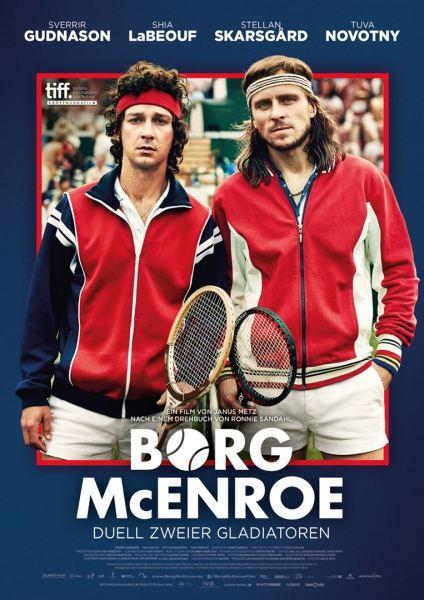 Borg McEnroe German Poster