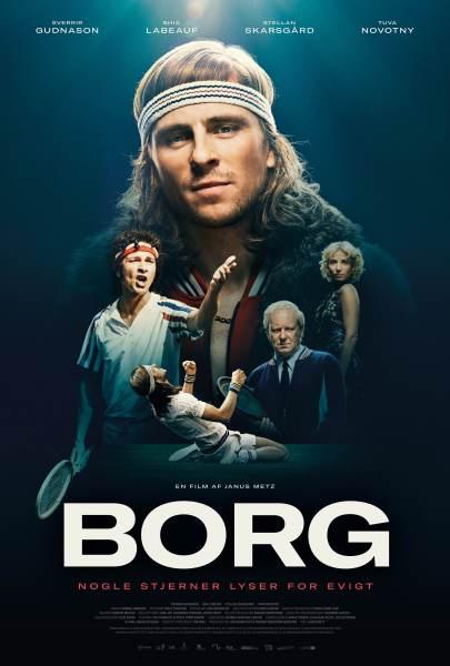 Borg McEnroe Danish Movie Poster