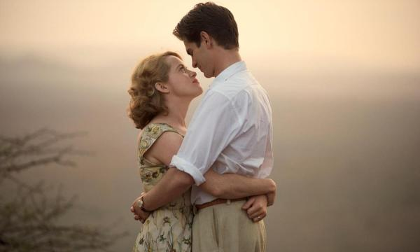 Breathe movie - Andrew Garfield and Claire Foy as husband and wife