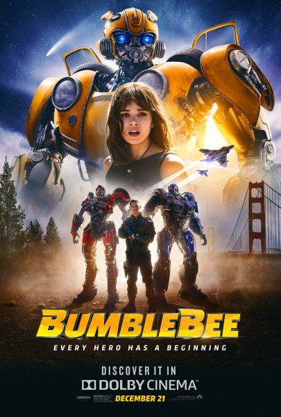 Bumblebee Dolby Poster