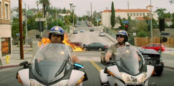 CHIPs - Michael Pena And Dax Shepard