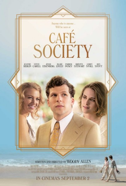 Cafe Society New Poster - A Woody Allen film
