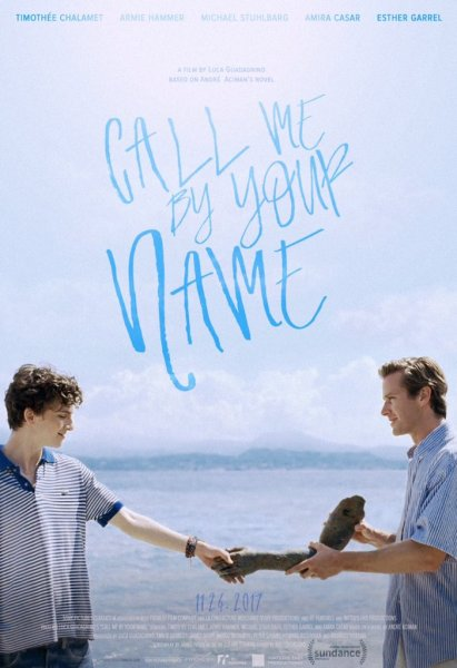 Call Me By Your Name New Film Poster