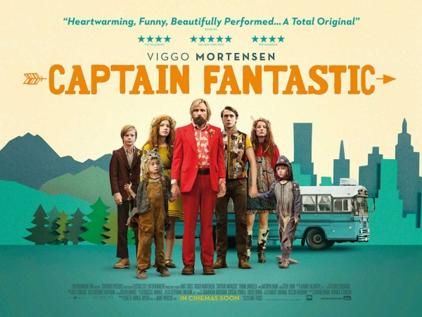Captain Fantastic Movie - Banner Poster