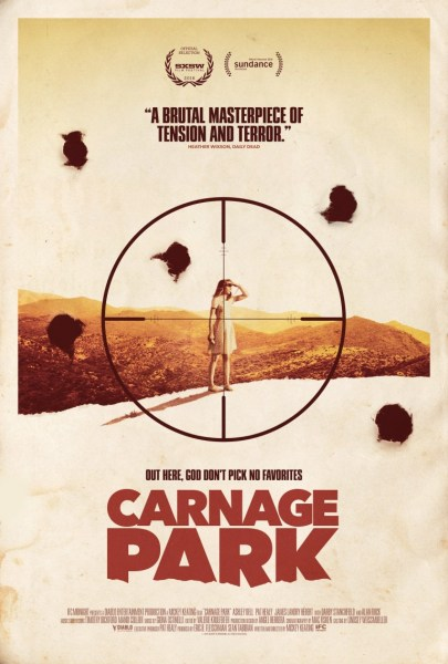 Carnage Park movie poster