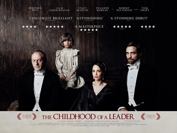 Childhood of a leader UK banner