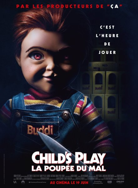 Child's Play French Poster