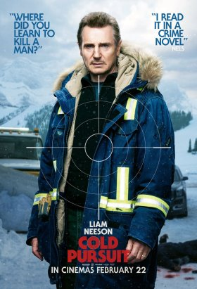 Cold Pursuit Character Poster