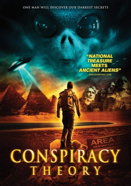 Conspiracy Theory Movie Poster
