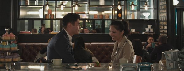 Constance Wu And Henry Golding In Crazy Rich Asians