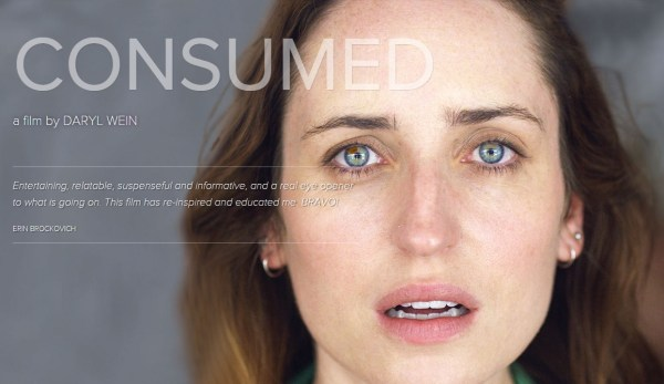 Consumed Movie - Out on VOD March 22/ Political GMO Thriller 'Consumed'/Starring & Co-Written by CBS star of 'Life In Pieces' Zoe Lister-Jones