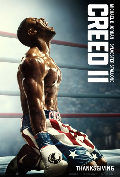 Creed II New Film Poster