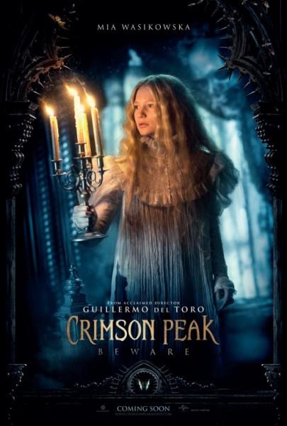 Crimson Peak Charakter Poster (3)