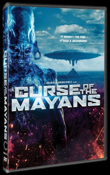 Curse Of The Mayan DVD Cover