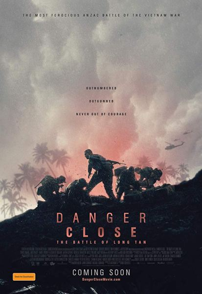 Danger Close The Battle Of Long Tan Movie Poster