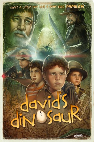 David's Dinosaur Movie Poster