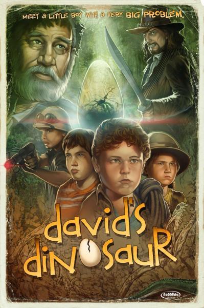 David's Dinosaur Movie Poster