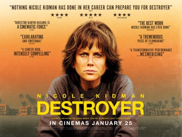 Destroyer UK Poster
