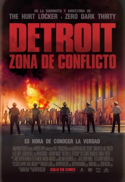 Detroit New International Poster