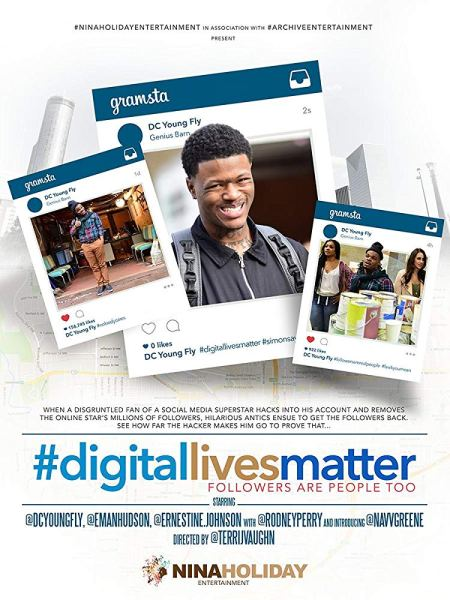 #DigitalLivesMatter Movie Poster