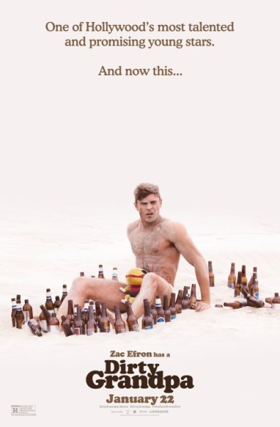 Dirty Grandpa - Zac Efron Poster