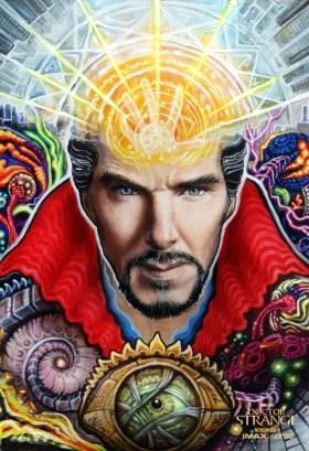 Doctor Strange Psychedelic Poster