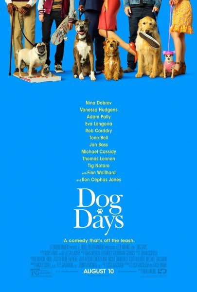 Dog Days New Film Poster