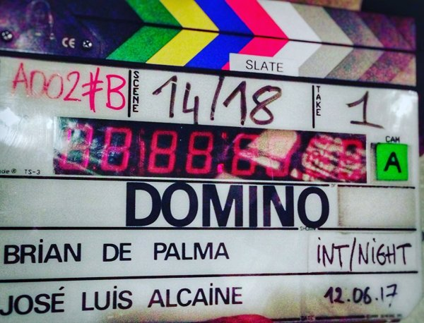 Domino Film Clapperboard