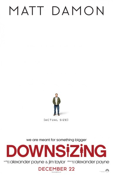 Downsizing New Poster