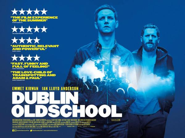 Dublin Oldschool Movie Poster